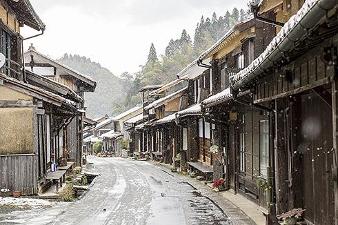 Townscape of Omori Town