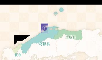 出雲大社のエリアマップ
