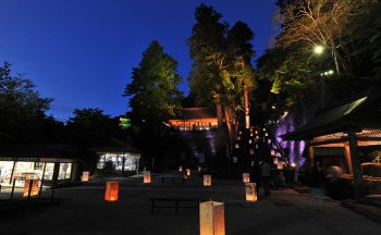 Kiyomizu-dera Temple light approach