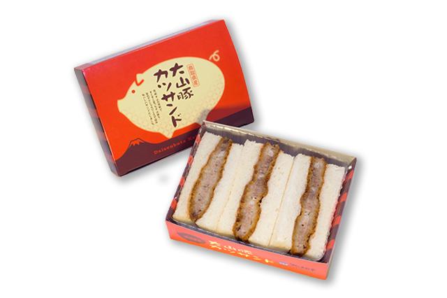 鳥取県産 大山豚カツサンド