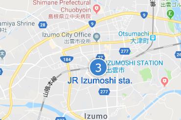 JR Izumoshi Sta.