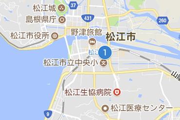 JR松江駅のマップ