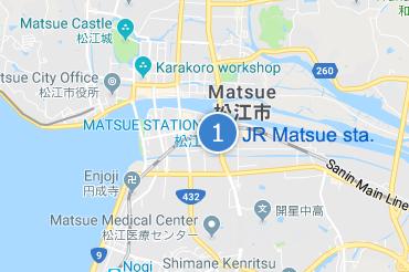 JR Matsue sta.