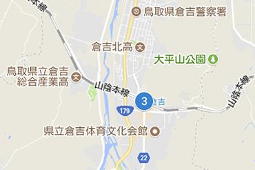 JR倉吉駅のマップ