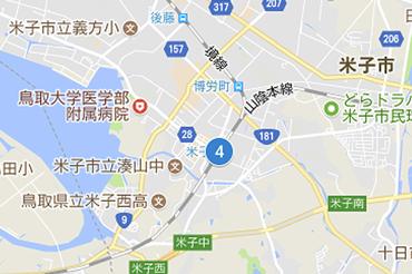 JR米子駅のマップ