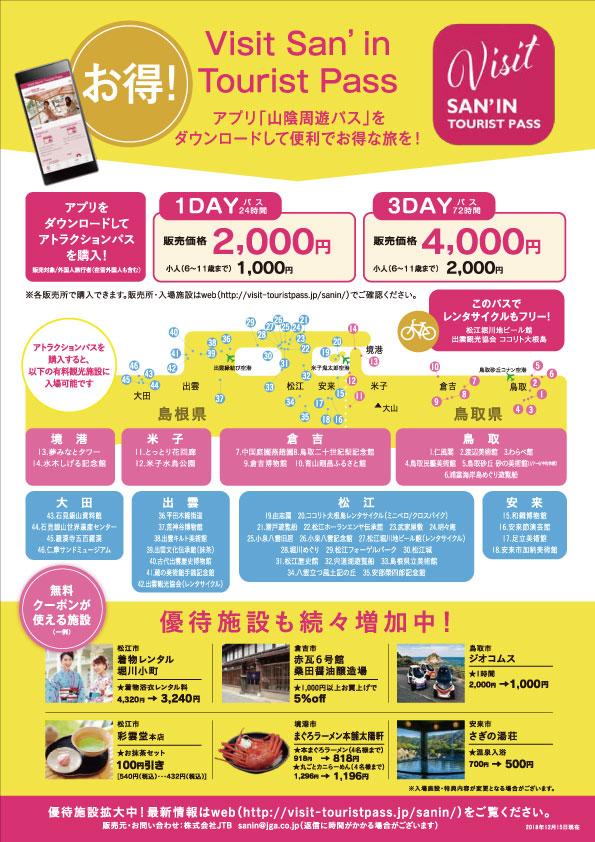 Visit San'in Tourist Pass(裏)
