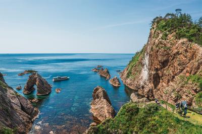 (1) 浦富海岸