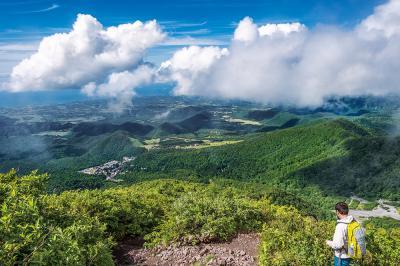 (6) 大山の風景