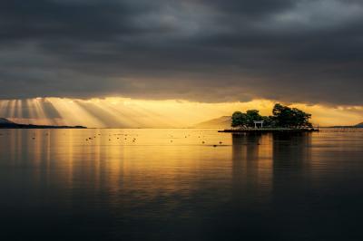 (14) 宍道湖と嫁ヶ島